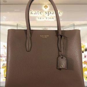 """NWT Kate spade Eva tote - in """"light walnut"""" colour"""